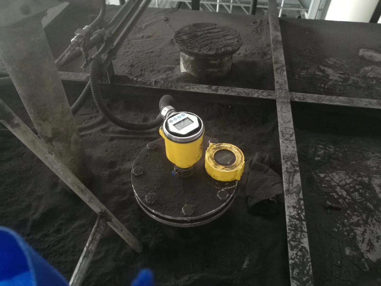 雷达料位计测量煤仓料位